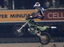 Mad Mike Jones at the 2001 RCA Dome Supercross